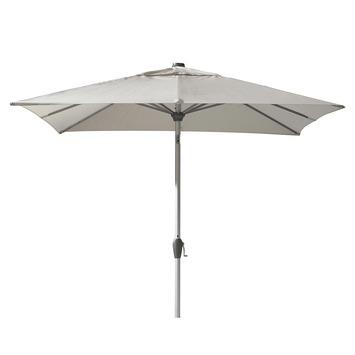 Parasol Ibiza Vierkant Wit 250x250 cm
