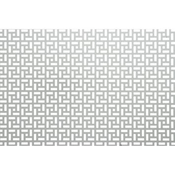 CanDo Decorpaneel Inca Zilver Aluminium 100x50 cm