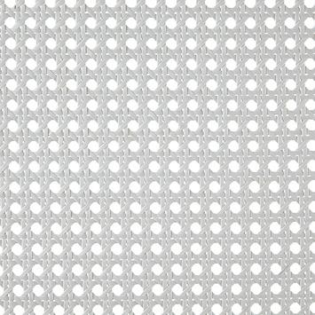 CanDo Radiatorbekleding Webbing Vlechtmat Wit 100x60 cm