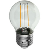 HANDSON LED kogellamp filament E27 2,3W