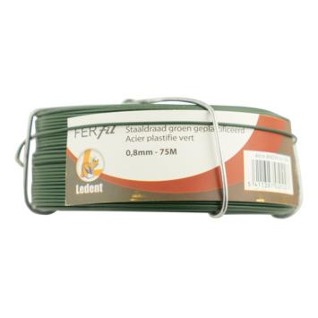 Hobby draad groen 0,7/0,8 mm 75 meter