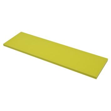 Duraline paneel rechthoek groen 18 mm 80x23,5 cm
