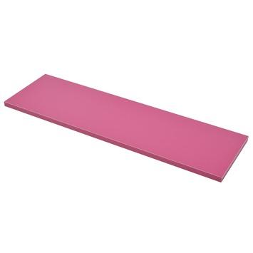 Duraline paneel rechthoek roze 18 mm 80x23,5 cm