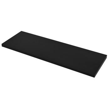 Duraline paneel rechthoek zwart 18 mm 80x23,5 cm