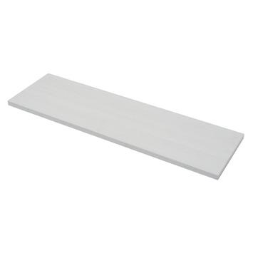 Duraline paneel rechthoek wit 18 mm 80x23,5 cm