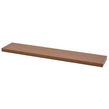 Blinde Planken Gamma.Duraline Wandplank Xl4 Walnoot 38 Mm 118x23 5 Cm