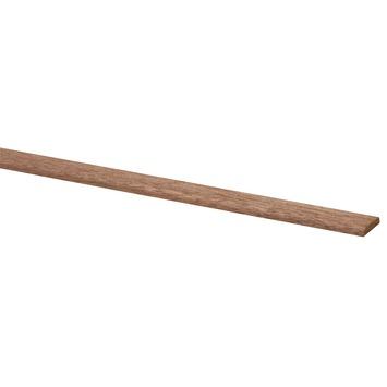 Deklijst hardhout 4x22 mm 270 cm