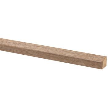 Glaslat hardhout 19x16 mm 270 cm
