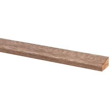 Glaslat hardhout 17x28 mm 270 cm