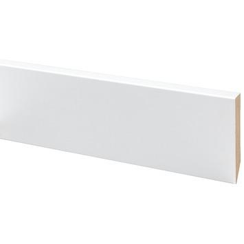 Dekrand MDF wit folie 100x17 mm 260 cm