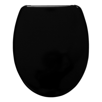 Handson WC bril Usko Zwart Kunststof met Softclose