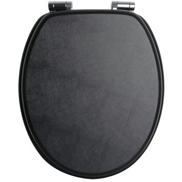 Handson WC bril Antero Zwart MDF met Softclose
