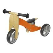 Houten driewieler / loopfiets