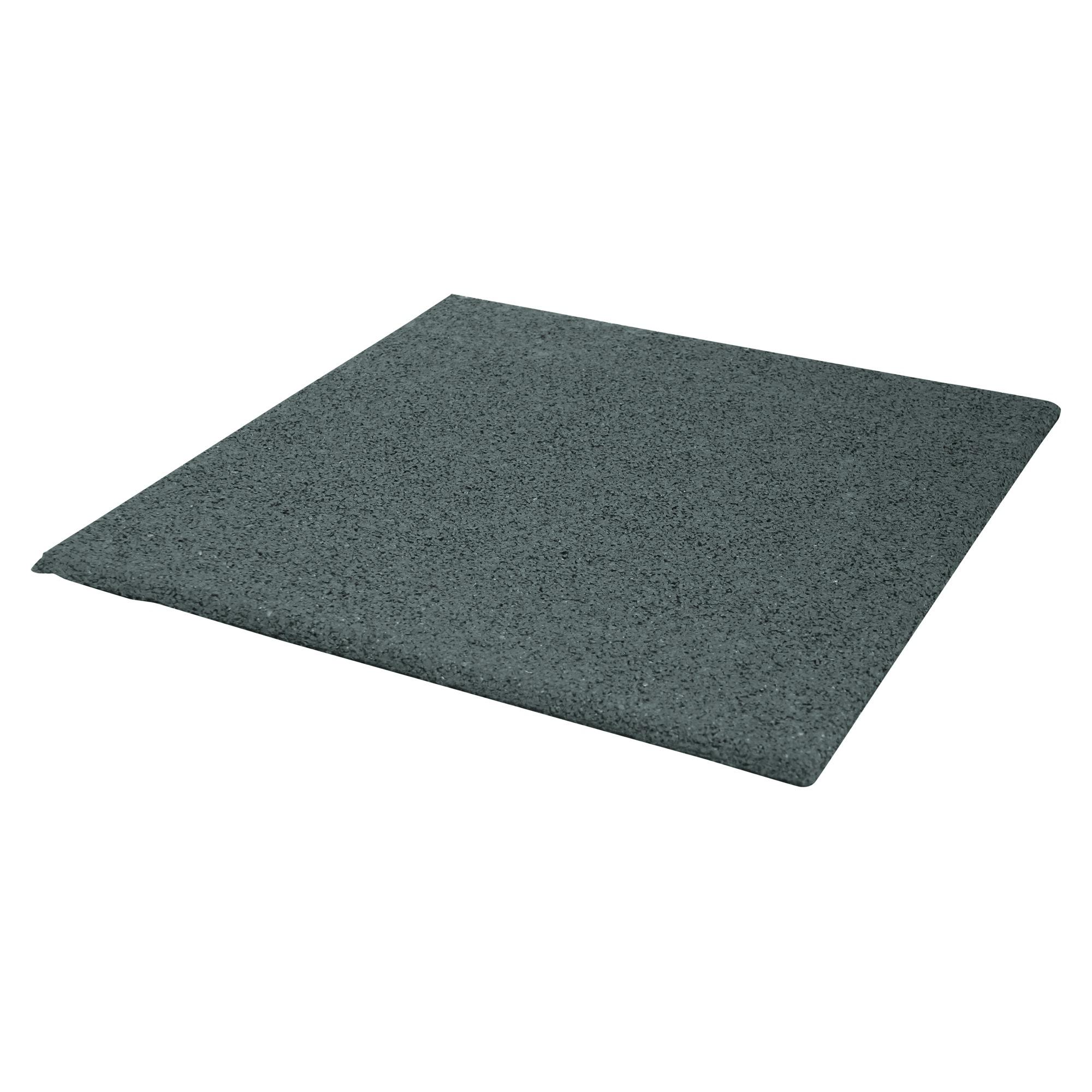 Terrastegel Rubber Grijs 40x40 cm - 240 Tegels - 38,40 m2