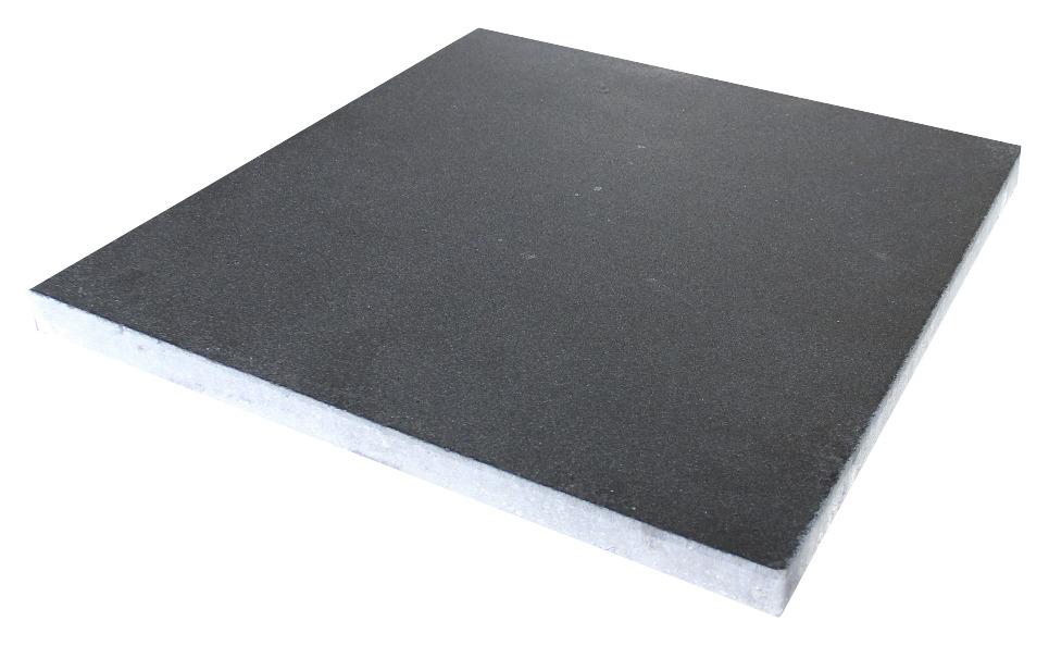 Terrastegel Beton Vegas Antraciet 60x60 cm Per Tegel-0,36 m2