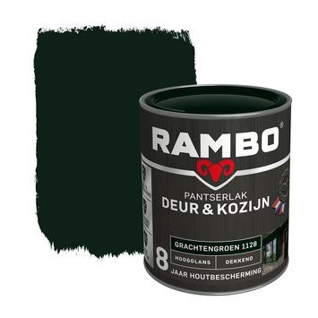 Rambo Pantserlak Deur & Kozijn hoogglans grachtengroen dekkend 750 ml