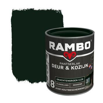 Rambo Pantserlak Deur & Kozijn zijdeglans grachtengroen dekkend 750 ml