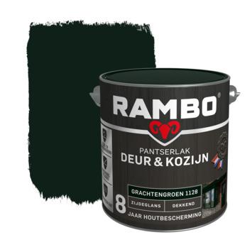 Rambo Pantserlak Deur & Kozijn zijdeglans grachtengroen dekkend 2,5 l