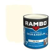 Rambo pantserbeits deur & kozijn dekkend RAL 9010 zijdeglans 750 ml