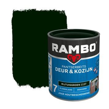 Rambo pantserbeits deur & kozijn dekkend rijtuiggroen zijdeglans 750 ml