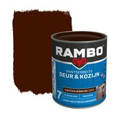 Rambo pantserbeits deur & kozijn dekkend kastanjebruin zijdeglans 750 ml