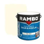 Rambo pantserbeits deur & kozijn dekkend RAL 9010 hoogglans 2,5 liter