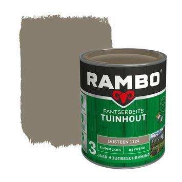 Rambo pantserbeits tuinhout dekkend leisteen zijdeglans 750 ml