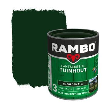 Rambo pantserbeits tuinhout dekkend bosgroen zijdeglans 750 ml