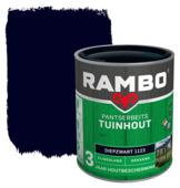 Rambo pantserbeits tuinhout dekkend diepzwart zijdeglans 750 ml