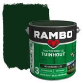 Rambo pantserbeits tuinhout dekkend bosgroen zijdeglans 2,5 liter