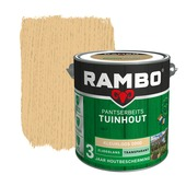 Rambo pantserbeits tuinhout transparant kleurloos zijdeglans 2,5 liter