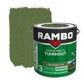 Rambo pantserbeits tuinhout transparant loofgroen zijdeglans 2,5 liter