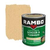 Rambo pantserbeits schuur & tuinhuis transparant kleurloos zijdeglans 750 ml