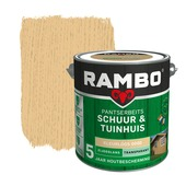 Rambo pantserbeits schuur & tuinhuis transparant kleurloos zijdeglans 2,5 liter