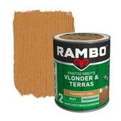 Rambo pantserbeits vlonder & terras transparant teakhout mat 1 liter