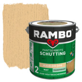 Rambo pantserbeits schutting transparant kleurloos mat 2,5 liter