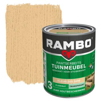 Rambo pantserbeits tuinmeubel transparant kleurloos zijdemat 750 ml