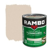 Rambo pantserbeits tuinmeubel transparant whitewash zijdemat 750 ml