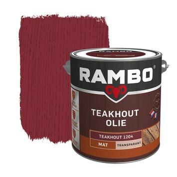 Rambo teakolie transparant 2,5 liter