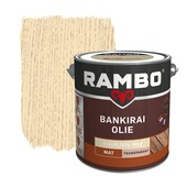 Rambo bankirai olie transparant kleurloos 2,5 liter
