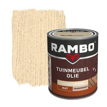 Rambo Tuinmeubel olie transparant kleurloos mat 750 ml