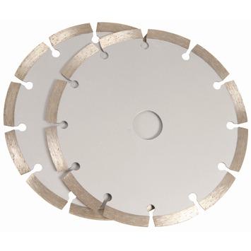FERM diamanten zaagblad 150mm 2 stuks