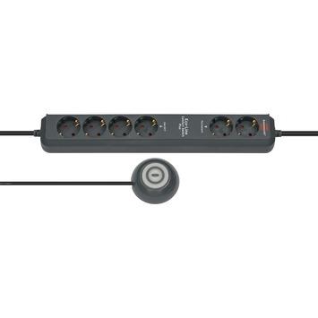 Brennenstuhl stekkerdoos Eco-Line 6 voudig 1,5 meter met comfort switch plus