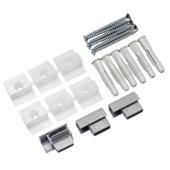 Artiteq service set grijs voor Click Rail aluminium