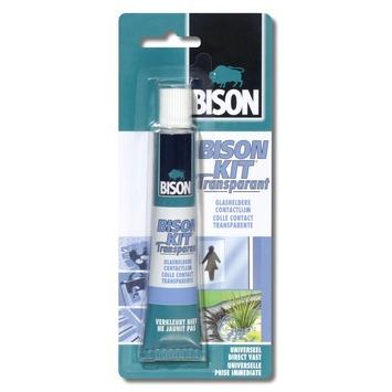 Bison Kit contactlijm gel transparant 50 ml