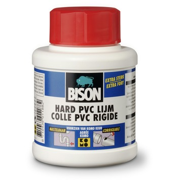 Bison hard PVC lijm potje 250 ml