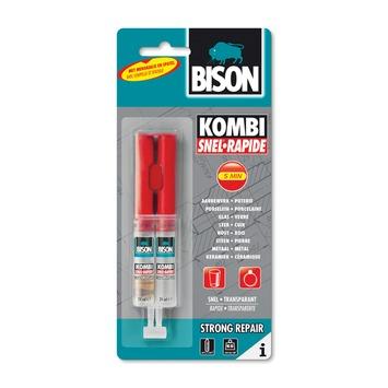 Bison 2-componentenlijm kombi snel 24 ml