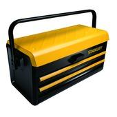 Stanley gereedschapskoffer 19 inch metaal met 2 lades