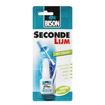 Bison secondelijm met kwast 5 gram