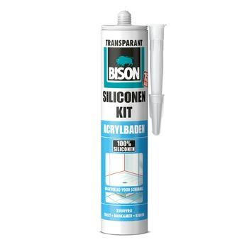 Bison siliconenkit acrylbaden neutraal transparant 300 ml